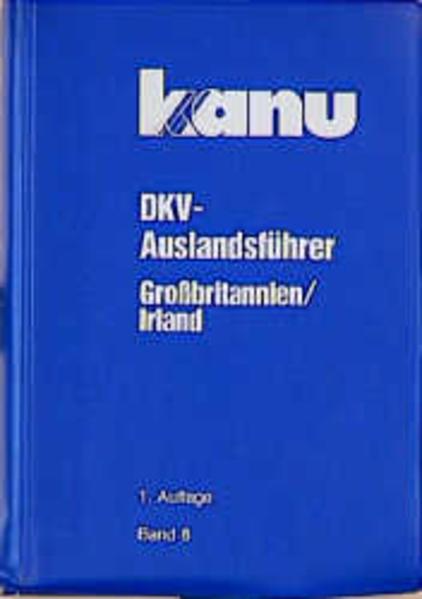 DKV Auslandsführer 08. Großbritannien, Irland als Buch