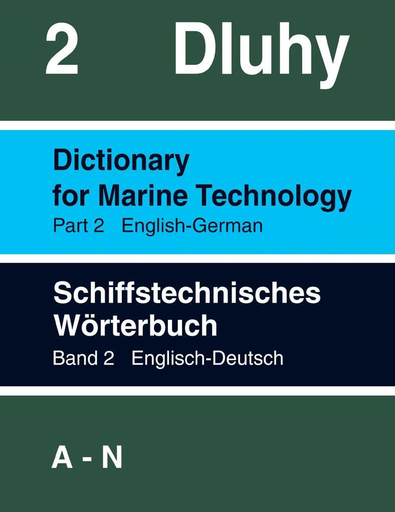 Schiffstechnisches Wörterbuch Eng. - Dtsch. als Buch