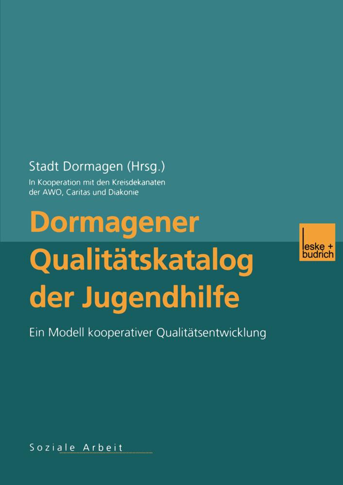 Dormagener Qualitätskatalog der Jugendhilfe als Buch