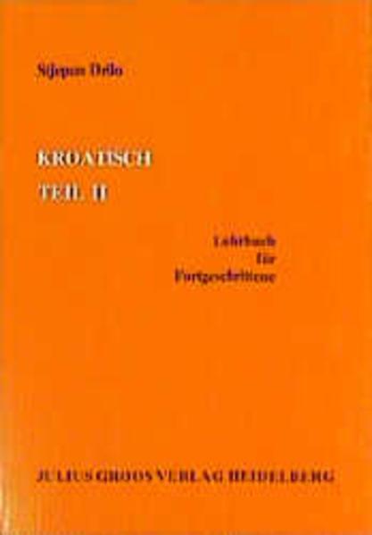 Kroatisch 2 als Buch