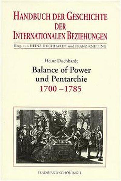 Balance of Power und Pentarchie als Buch