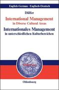 International Management in Diverse Cultural Areas / Internationales Management in unterschiedlichen Kulturbereichen