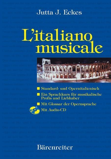 L' italiano musicale, m. Audio-CD als Buch