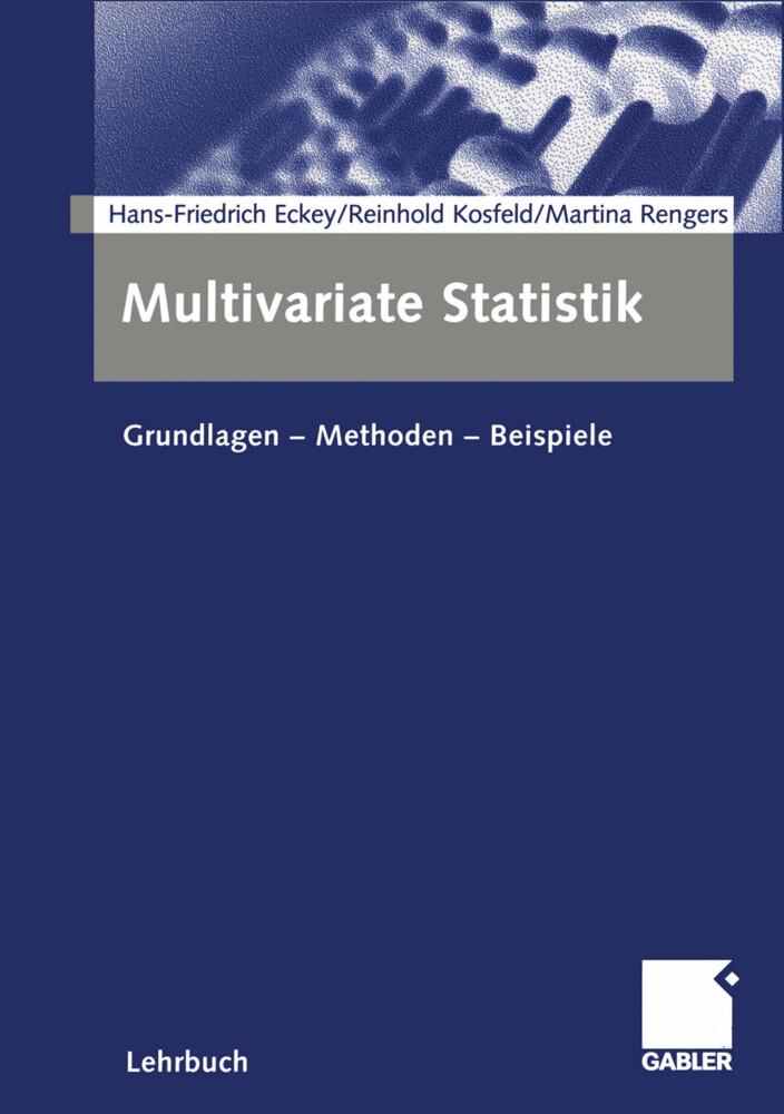 Multivariate Statistik als Buch