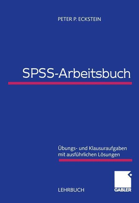 SPSS-Arbeitsbuch als Buch