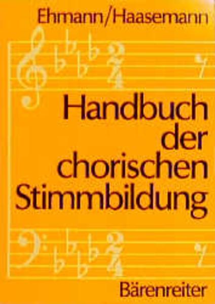 Handbuch der chorischen Stimmbildung als Buch