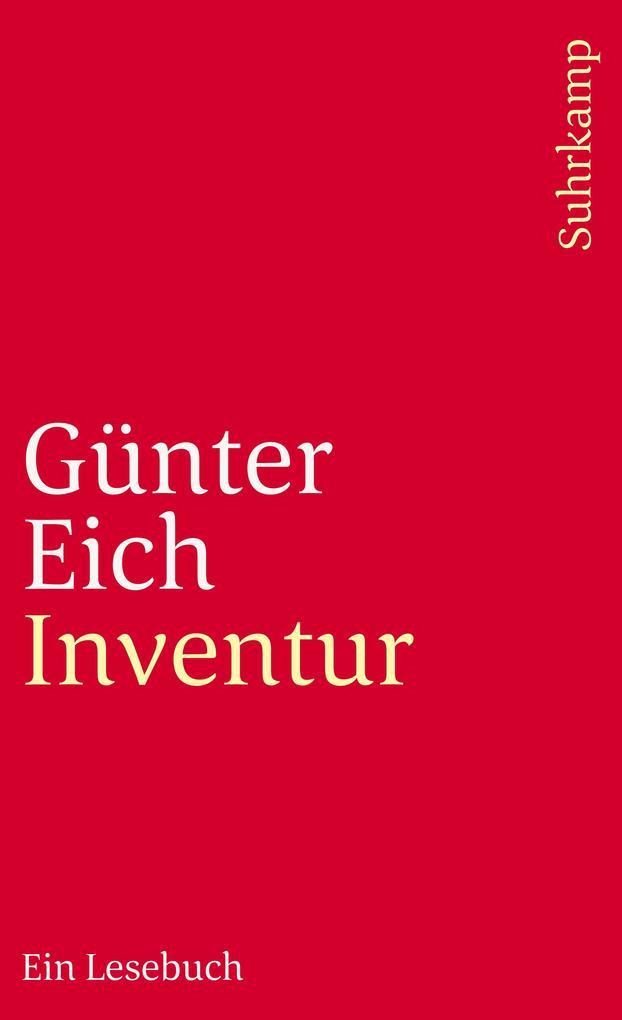 Inventur als Taschenbuch