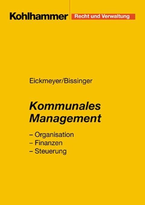 Kommunales Management als Taschenbuch
