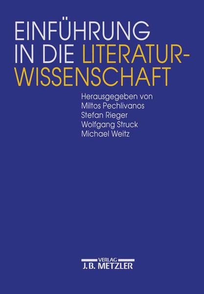Einführung in die Literaturwissenschaft als Buch