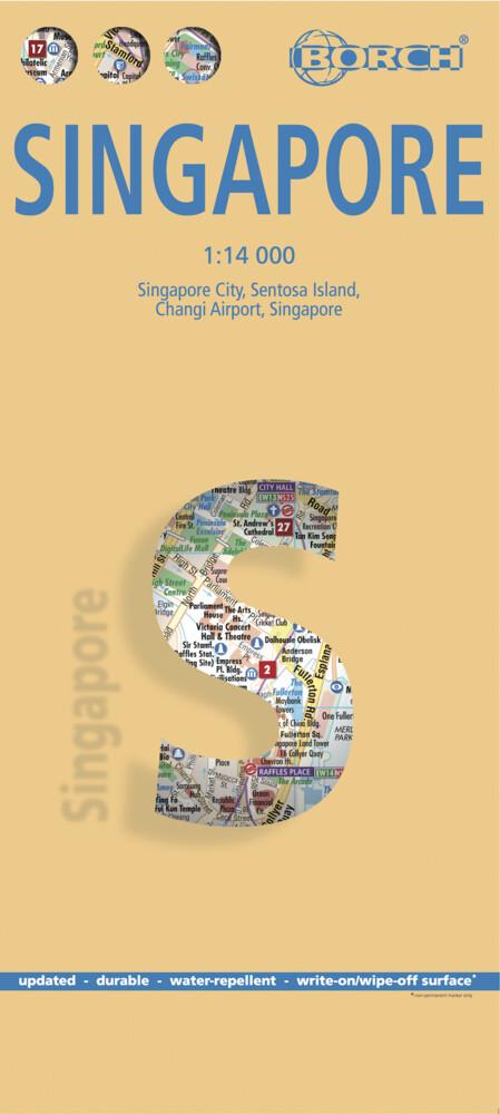 Singapur / Singapore 1 : 14 000 als Buch von