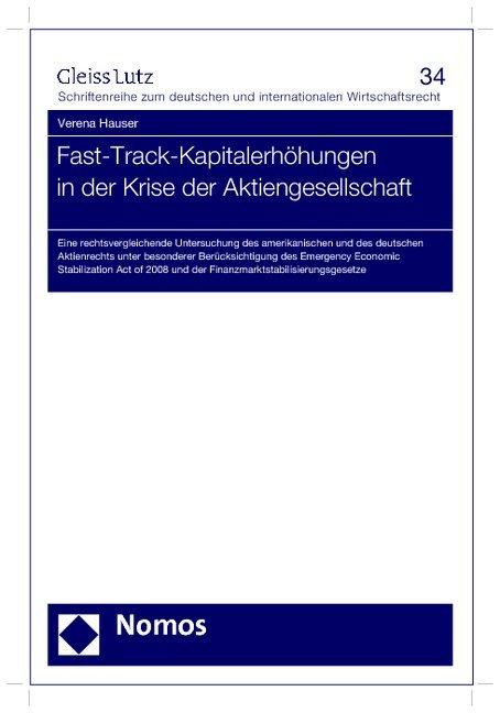 Fast-Track-Kapitalerhöhungen in der Krise der A...