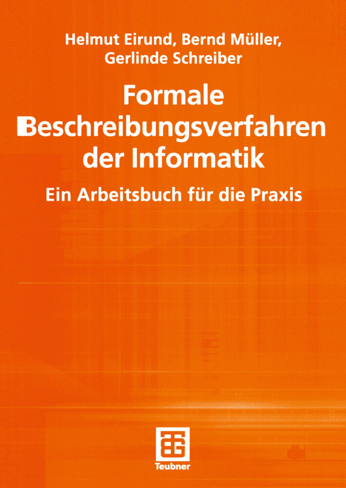 Formale Beschreibungsverfahren der Informatik als Buch