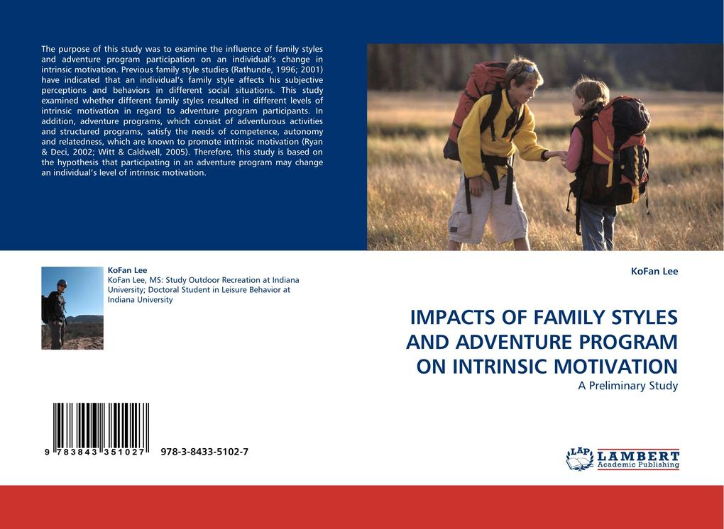 IMPACTS OF FAMILY STYLES AND ADVENTURE PROGRAM ...