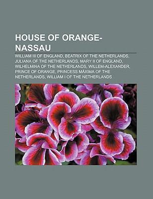 House of Orange-Nassau als Taschenbuch von