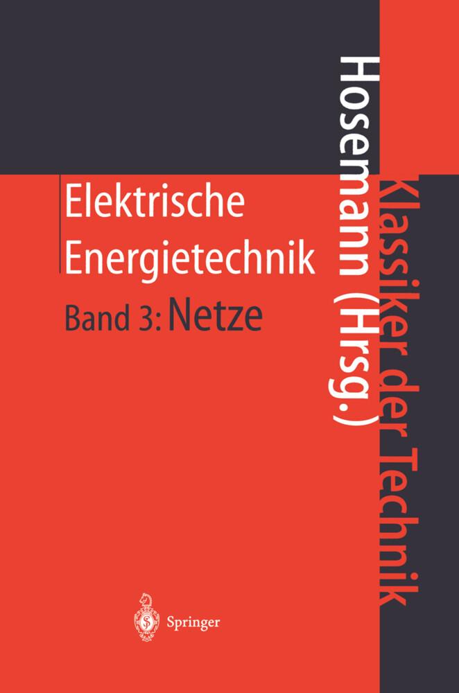 Elektrische Energietechnik als Buch