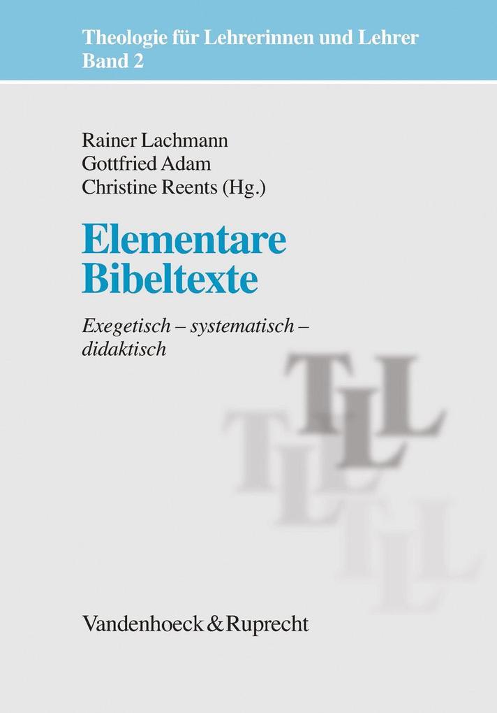 Elementare Bibeltexte als Buch (gebunden)
