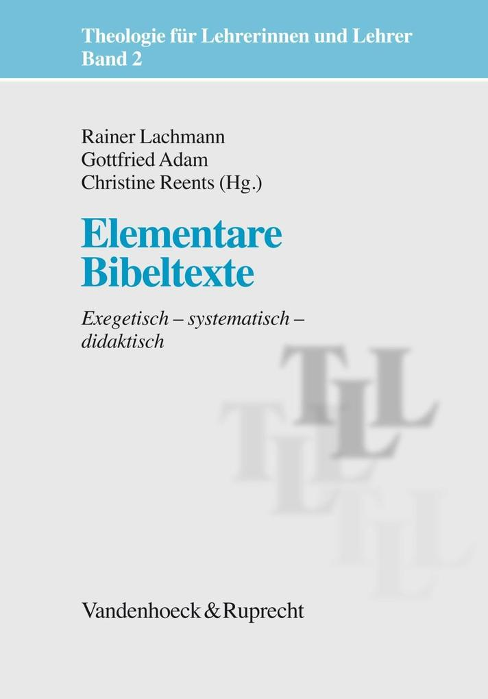 Elementare Bibeltexte als Buch