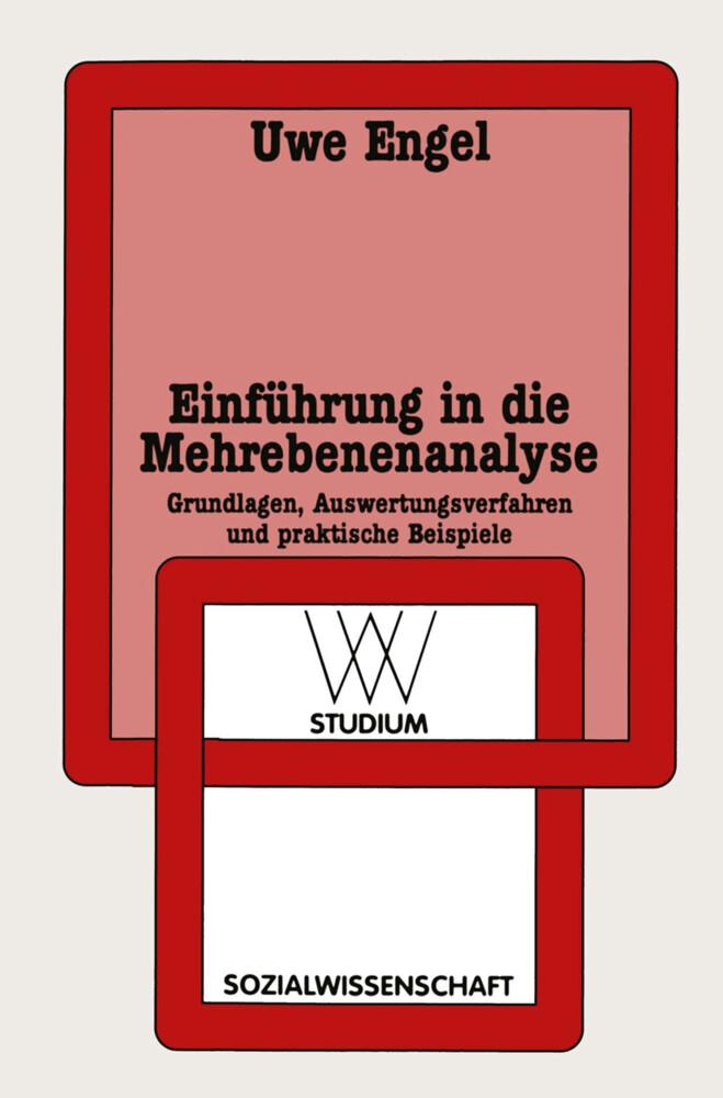 Einführung in die Mehrebenenanalyse als Buch