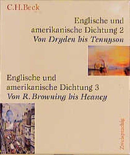 Englische und amerikanische Dichtung, 4 Bde. als Buch