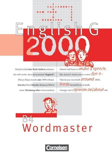 English G 2000. Ausgabe B 4. Wordmaster als Buch