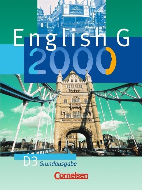 English G 2000. Ausgabe D 3. Schülerbuch als Buch
