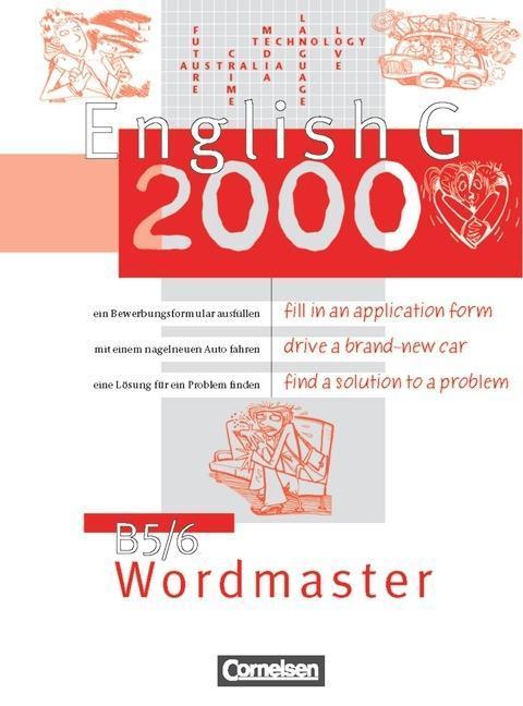 English G 2000. B 5. Wordmaster als Buch