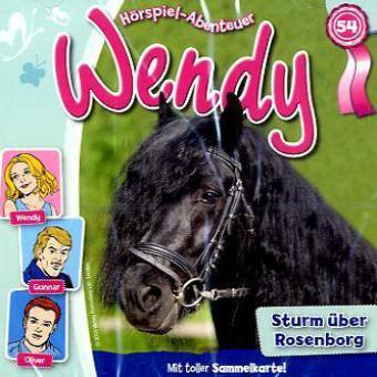 Wendy - Sturm über Rosenborg, 1 Audio-CD als CD
