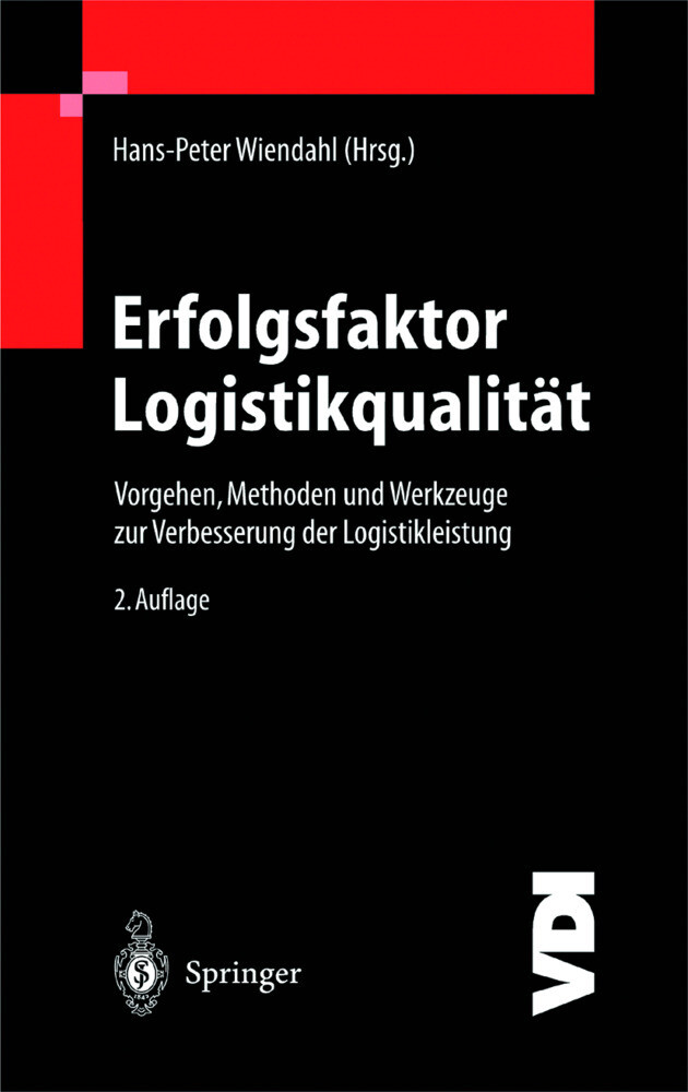 Erfolgsfaktor Logistikqualität als Buch (gebunden)