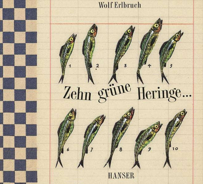 Zehn grüne Heringe als Buch