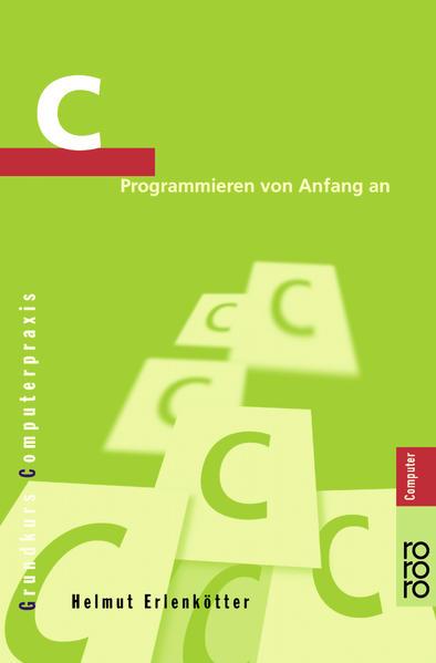 C Programmieren von Anfang an als Taschenbuch