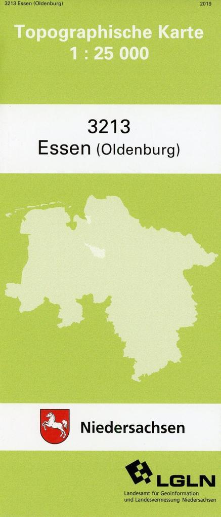 Essen (Oldenb.) 1 : 25 000. (TK 3213/N) als Buch