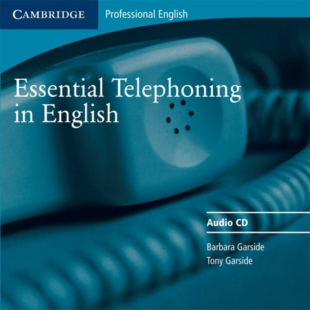 Essential Telephoning in English. CD als Hörbuch