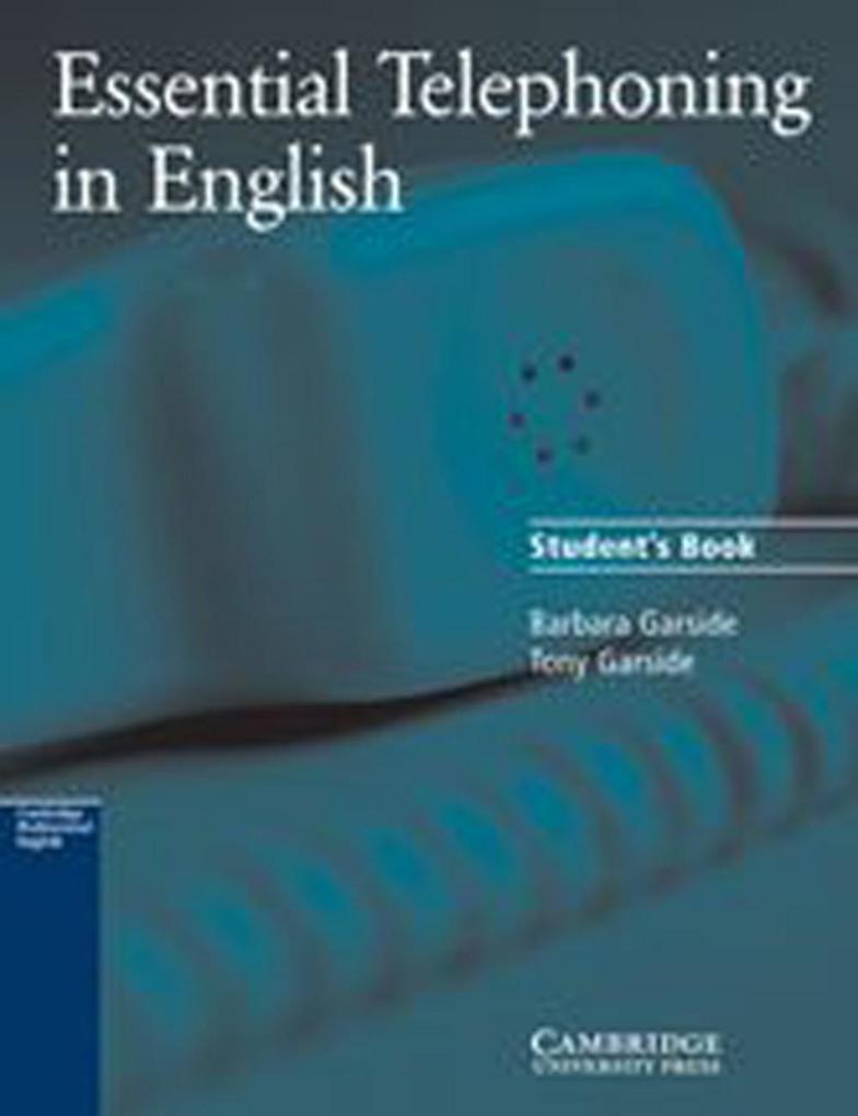 Essential Telephoning in English. Schülerbuch als Buch