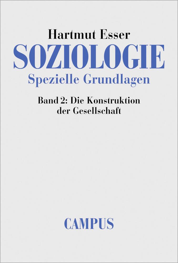 Soziologie. Spezielle Grundlagen 2 als Buch