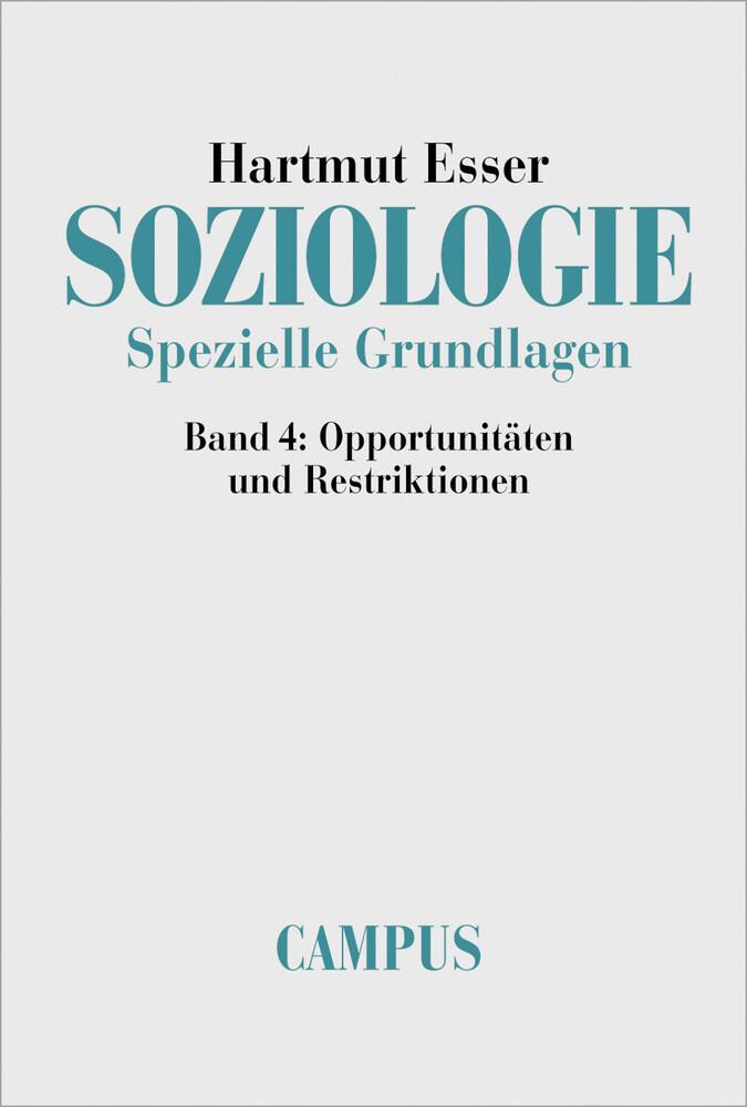 Soziologie. Spezielle Grundlagen 4 als Buch