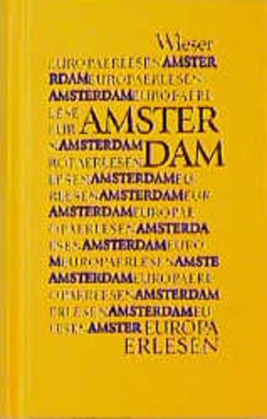 Europa Erlesen. Amsterdam als Buch