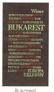 Europa Erlesen. Bukarest