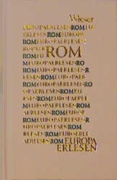 Europa Erlesen. Rom als Buch