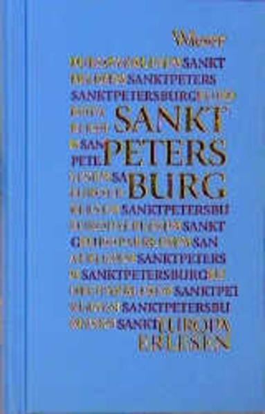 Europa Erlesen. Sankt Petersburg als Buch