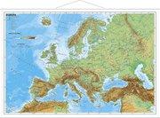 Europa, physisch 1 : 11 000 000. Wandkarte Mini-Format