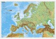 Europa, physisch 1 : 7 500 000. Wandkarte Kleinformat ohne Metallstäbe