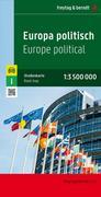 Europa politisch 1 : 3 500 000. Autokarte