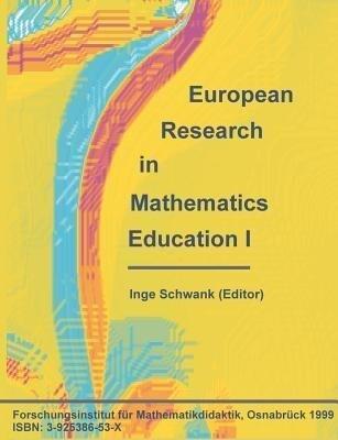 European Research in Mathematics Education I als Buch