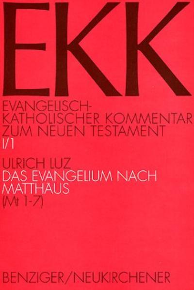 Das Evangelium nach Matthäus. Tl.1 als Buch