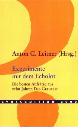 Experimente mit dem Echolot als Buch