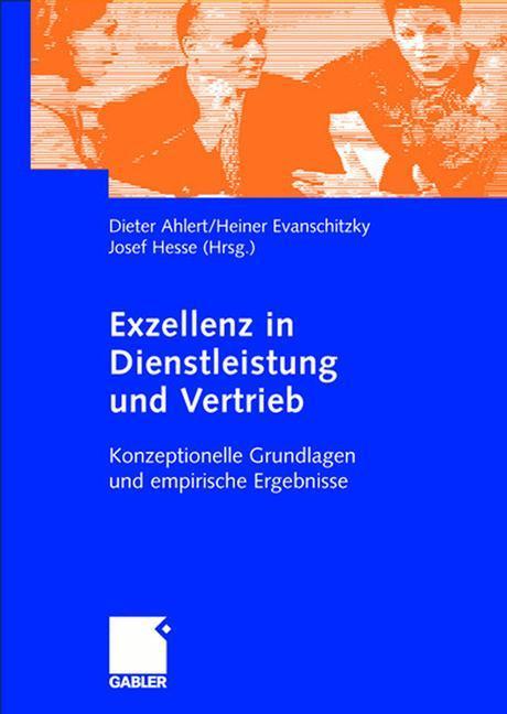 Exzellenz in Dienstleistung und Vertrieb als Buch