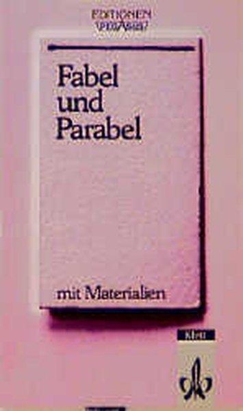 Fabel und Parabel als Buch