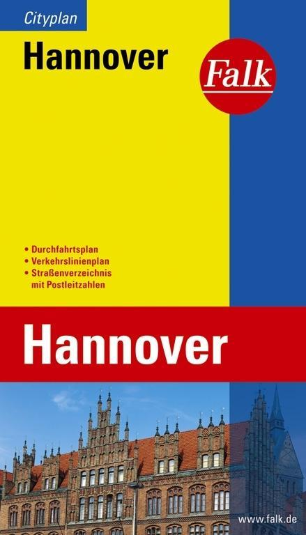 Falk Cityplan Hannover 1 : 20 000 als Buch
