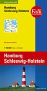 Falk Regionalkarte 01. Hamburg, Schleswig-Holstein. 1 : 150 000