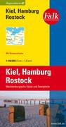 Falk Regionalkarte 02. Kiel, Hamburg, Rostock. 1 : 150 000